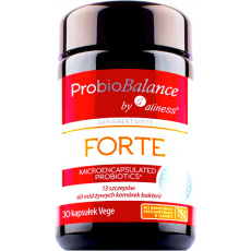 Aliness ProbioBALANCE FORTE 60mld CFU 30kaps vege - suplement diety PROMOCJA !