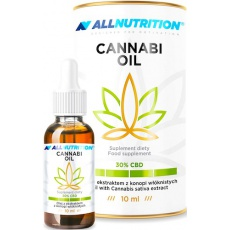 Allnutrition Cannabi Oil Olejek CBD 30% 10ml - suplement diety