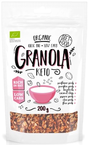 Diet Food BIO KETO granola 200g