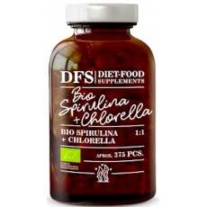 Diet Food BIO Spirulina + Chlorella 150g - suplement diety