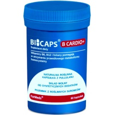 ForMeds BICAPS B Cardio+ 60kaps - suplement diety