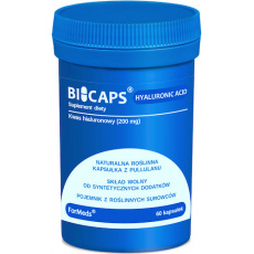 ForMeds BICAPS HYALURONIC ACID Kwas Hialuronowy 60kaps - suplement diety