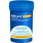 ForMeds BICAPS Witamina C 1000+ Bioflawonoidy 1000mg 60kaps vege - suplement diety