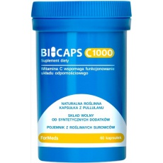 ForMeds BICAPS witamina C 1000mg 60kaps vege Konfiguracja-L - suplement diety