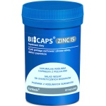 ForMeds BICAPS ZINC 25mg Cytrynian: Cynk + Miedź 60kaps - suplement diety