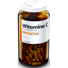 Hauster Witamina C 1000mg 120kaps Kwas l-askorbionowy - suplement diety