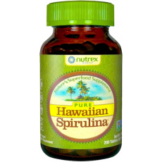 Hawaiian Spirulina hawajska Pacifica 500mg 200tabs - suplement diety