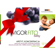 Healthy Home FFM VIGOR FITO BABY Apetyt Koncentracja 150ml - suplement diety