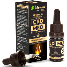 Intenson Olejek CBD MED 250mg CBD 5ml - suplement diety