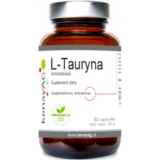 Kenay L-Tauryna 500mg 60kaps - suplement diety