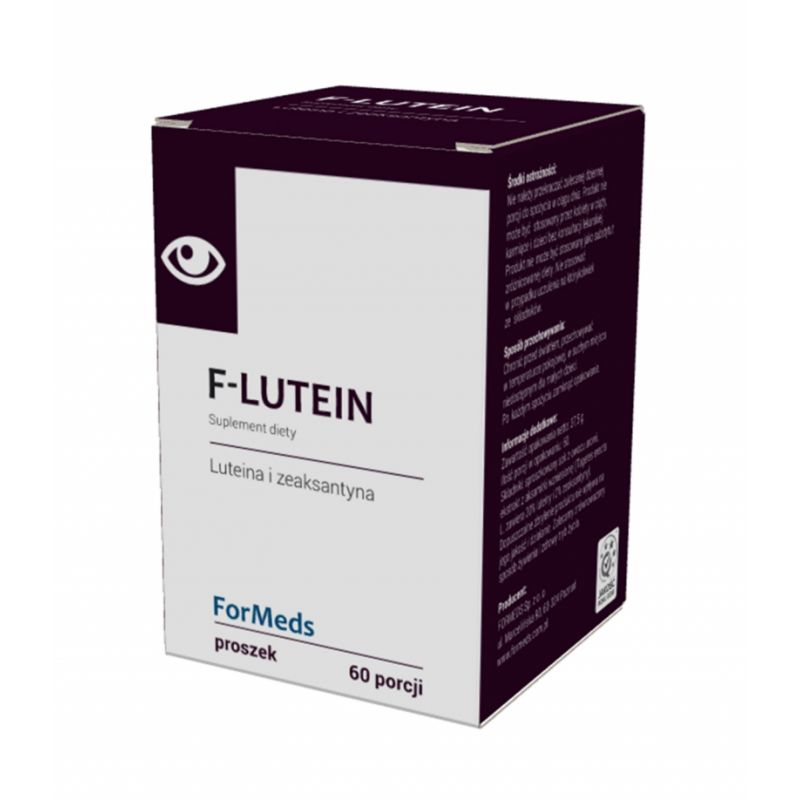 ForMeds F-LUTEIN Luteina i zeaksantyna 37,5g proszek - suplement diety