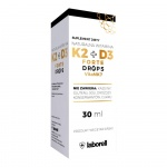 Laborell Witamina K2 + D3 Drops FORTE 30ml krople - suplement diety