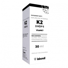 Laborell Witamina K2 Drops VitaMK7 30ml krople - suplement diety