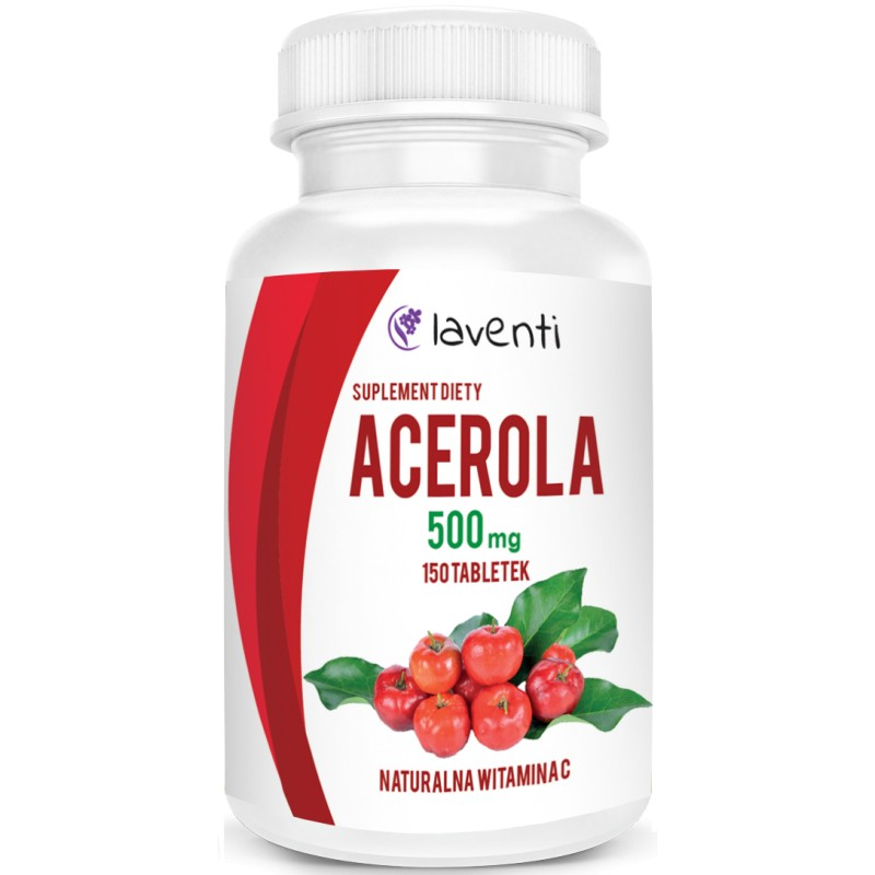 Laventi Acerola 500mg 150tab - suplement diety