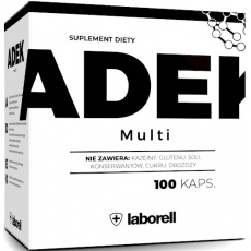 Laborell ADEK Multi 100kaps Witaminy A+D3+E+K2 - suplement diety