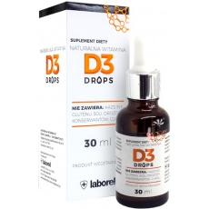 Laborell Witamina D3 Drops 30ml krople - suplement diety