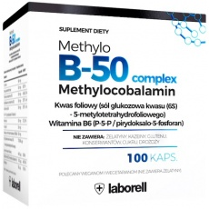 Laborell Witamina Methylo B-50 complex 100kaps - suplement diety