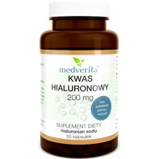 Medverita Kwas hialuronowy 200mg 50kaps - suplement diety