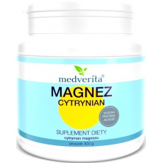 Medverita Magnez Cytrynian 400g - suplement diety