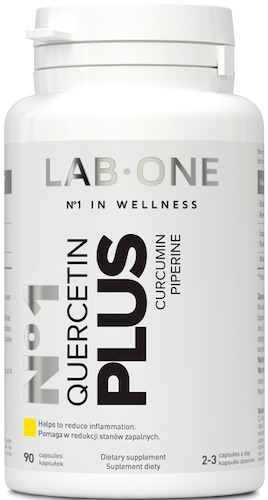 Nº1 LAB ONE Quercentin PLUS 90kaps- suplement diety