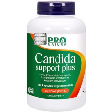 NOW FOODS Candida Support 180kaps vege Orzech - suplement diety