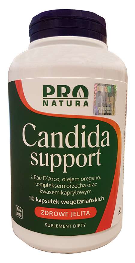 NOW FOODS Candida Support Plus 90 veg. kaps. - suplement diety