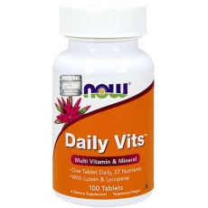 NOW FOODS Daily Vitamins 100tab vege Witaminy i Minerały Kompleks - suplement diety