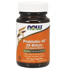 NOW FOODS Probiotic-10 25 Billion 50 kaps. - suplement diety