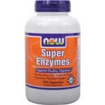 NOW FOODS Super Enzymes 180 tabs. - suplement diety