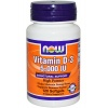 NOW FOODS Witamina D-3 5.000 IU 120 softgels - suplement diety