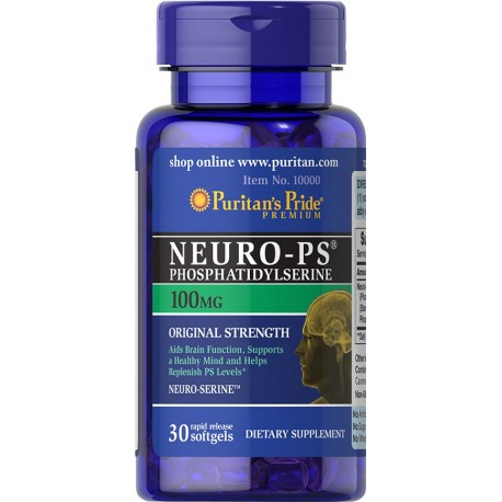 Puritan\'s Pride NEURO - PS 100mg 30kaps softgels - suplement diety