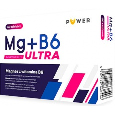 Puwer Magnez z witaminą B6 Ultra 60tabl - suplement diety PROMOCJA !