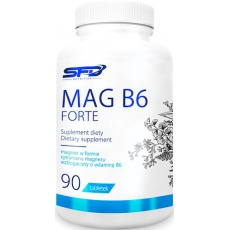 SFD MAG B6 Forte 90tab Cytrynian Magnezu + Witamina B6 - suplement diety
