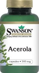 Swanson Acerola 500mg 60kaps - suplement diety