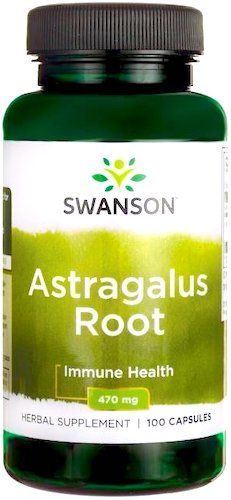 Swanson Astragalus 470mg 100kaps - suplement diety
