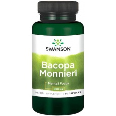 Swanson Bacopa Monniera BaCognize extract 250mg 90kaps - suplement diety