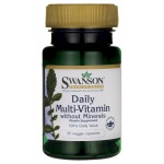Swanson Daily Multi-Vitamin 30kaps vege Multiwitamina A B C D E K - suplement diety