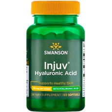 Swanson Injuv 70mg 90kaps Kwas hialuronowy - suplement diety
