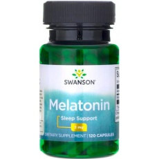 Swanson Melatonina 3mg 120kaps - suplement diety