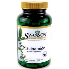 Swanson Niacinamide 250mg 250kaps - suplement diety