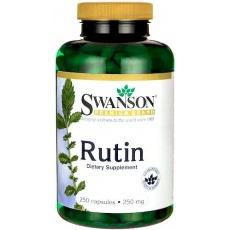Swanson Rutyna 250mg 250kaps - suplement diety