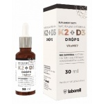 Laborell Witamina K2 + D3 Drops 30ml krople - suplement diety